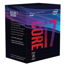 Procesadores Baratos Intel Core i7-8700K 3.7Ghz BOX SIN COOLER
