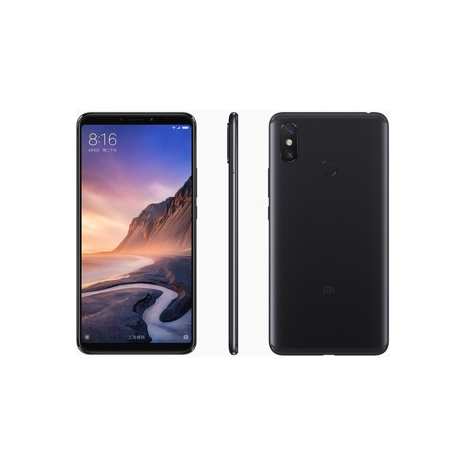 "Comprar XIAOMI MI MAX3  6,9""  4/64GB  8/12MP DS BLACK"