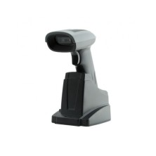 MS3-2D BT, Lector laser 2D, USB, Negro, con stand