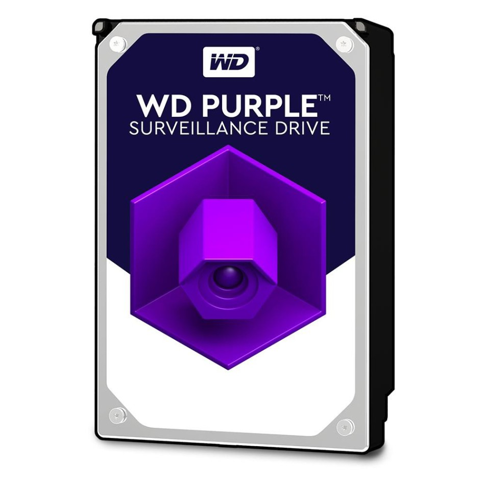 Disco Duro WESTERN DIGITAL WD 3.5'' 6TB SATA3 PURPLE