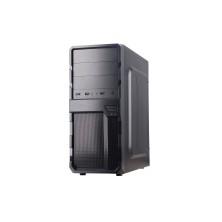CAJA SEMITORRE/ATX COOLBOX F200 S/FUENTE USB3.0 NEGRO