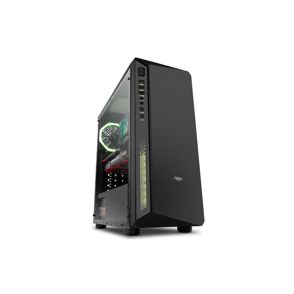 Comprar Nox Infinity Atom RGB Cristal Templado- Caja/Torre