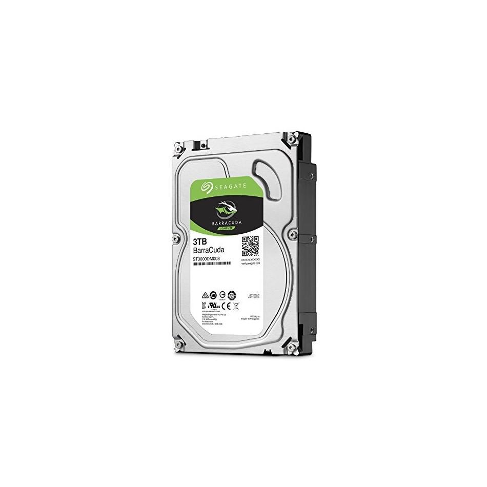 Comprar Disco Duro HDD SEAGATE 3.5'' 3TB 5400RPM 256MB SATA3 DESKTOP