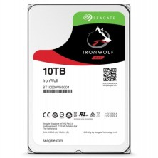 "Disco Duro HDD SEAGATE NAS IRONWOLF 3.5"" 10TB 7200RPM 256MB"