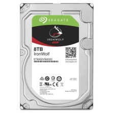"Disco Duro HDD SEAGATE NAS IRONWOLF 3.5"" 8TB 7200RPM 256MB"