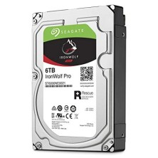 "Disco Duro HDD SEAGATE NAS IRONWOLF 3.5"" 6TB 7200RPM 256MB"