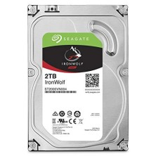 "Disco Duro HDD SEAGATE NAS IRONWOLF 3.5"" 2TB 5900RPM 64MB"
