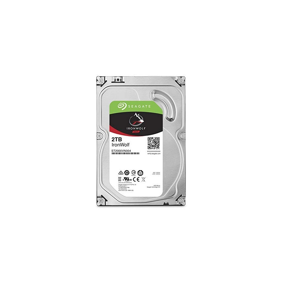 "Comprar Disco Duro HDD SEAGATE NAS IRONWOLF 3.5"" 2TB 5900RPM 64MB"