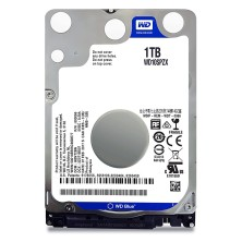 Disco Duro HDD WD 2.5 1TB 5400RPM 128MB SATA3 BLUE