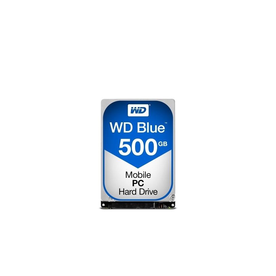 Comprar Disco Duro HDD WD 2.5'' 500GB 5400RPM 16MB SATA3 BLUE