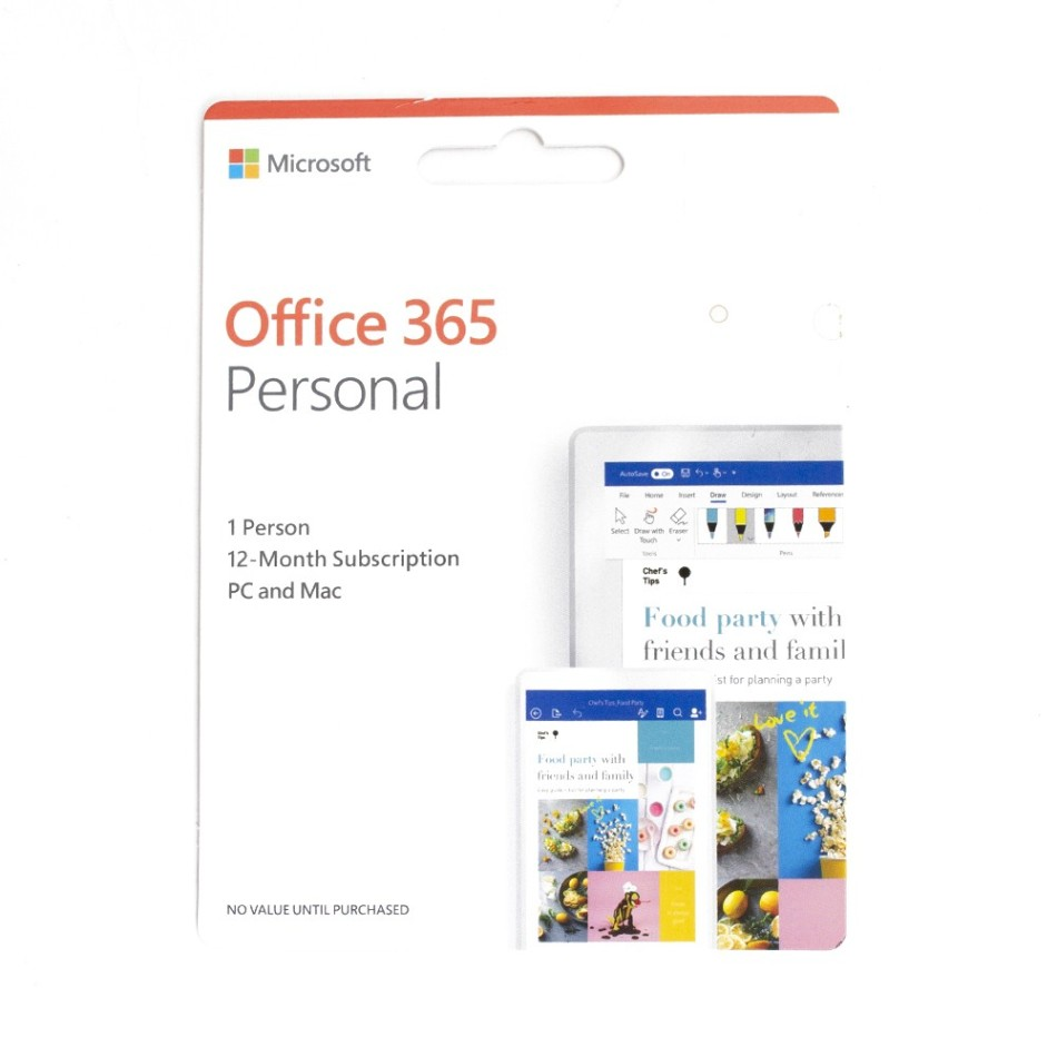 Comprar MICROSOFT OFFICE 365 PERSONAL 2019