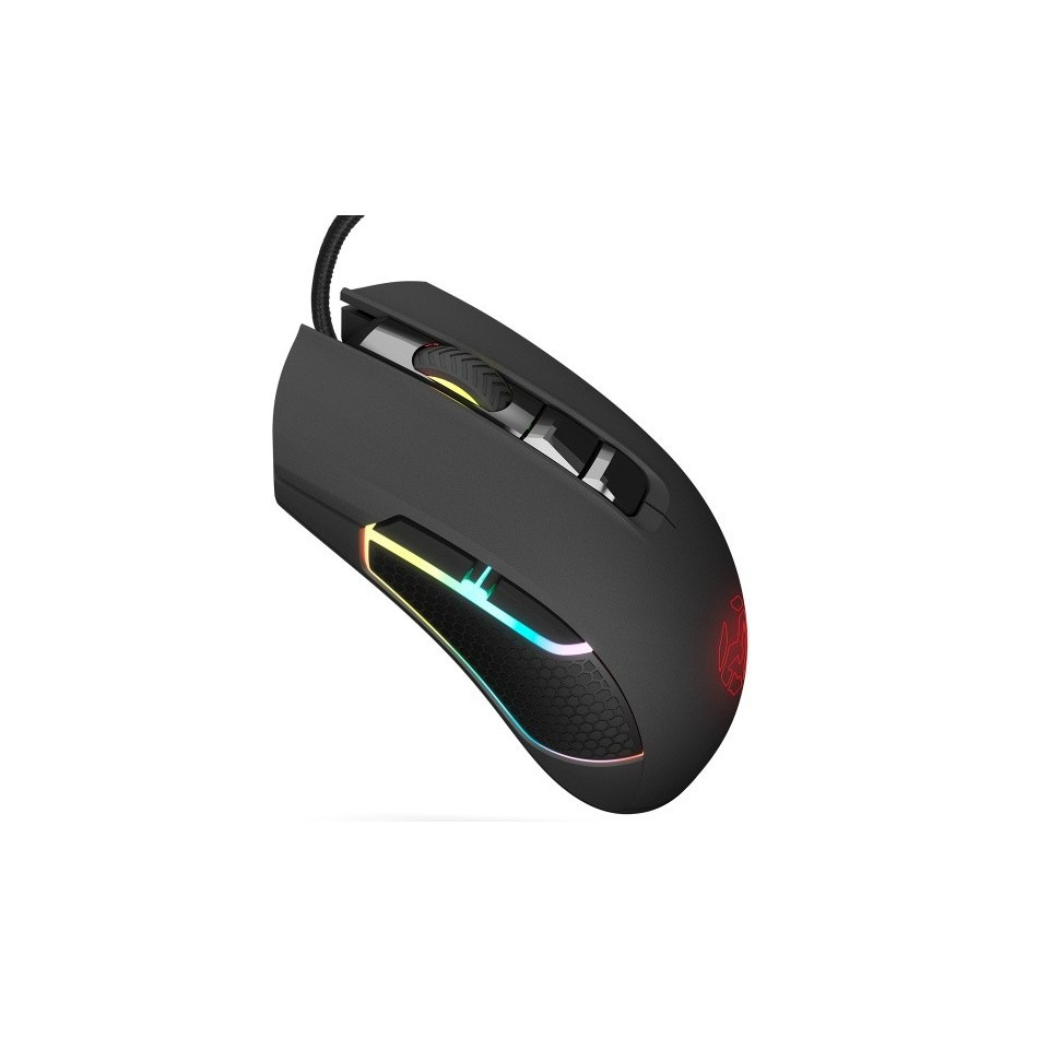 Comprar RATON KROM KOLT GAMING OPTICO 4000 DPI RGB USB NEGRO