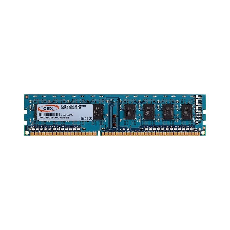 Comprar MEMORIA CPU DDR3 8GB 1600MHZ CSXD3LO1600-2R8-8GB