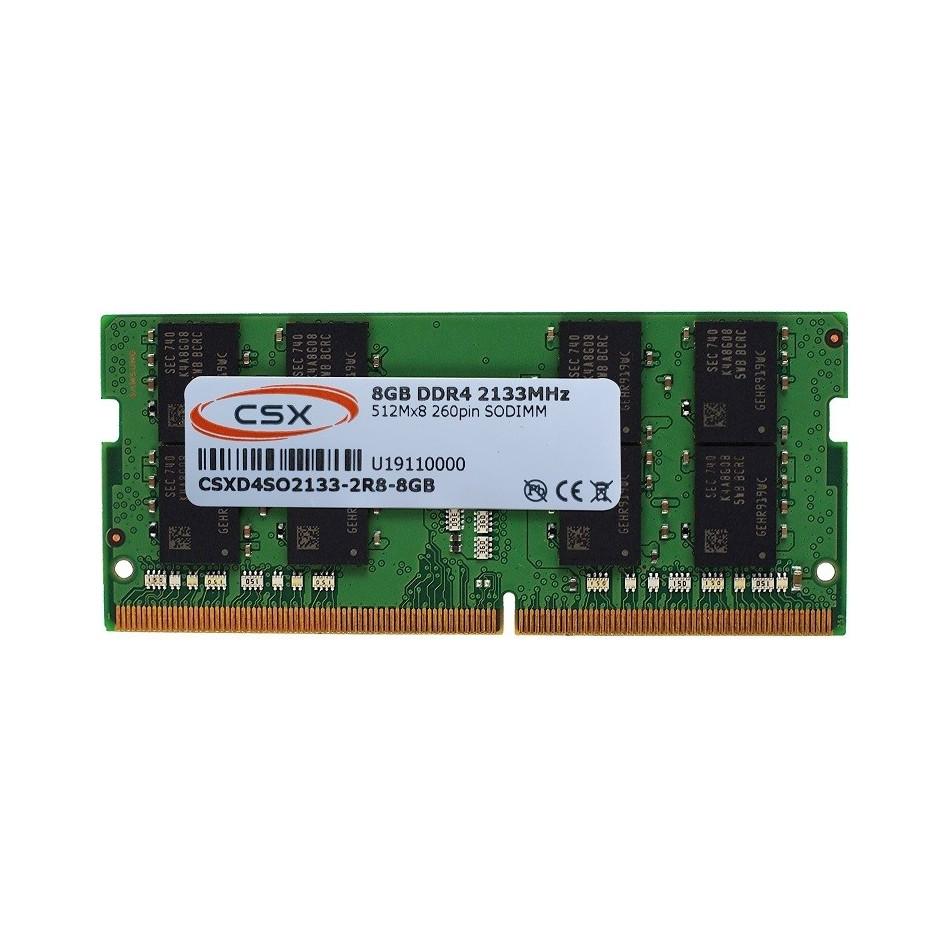 Comprar MEMORIA PORTATIL DDR4  8GB 2133MHZ CSXD4SO2133-2R8-8GB