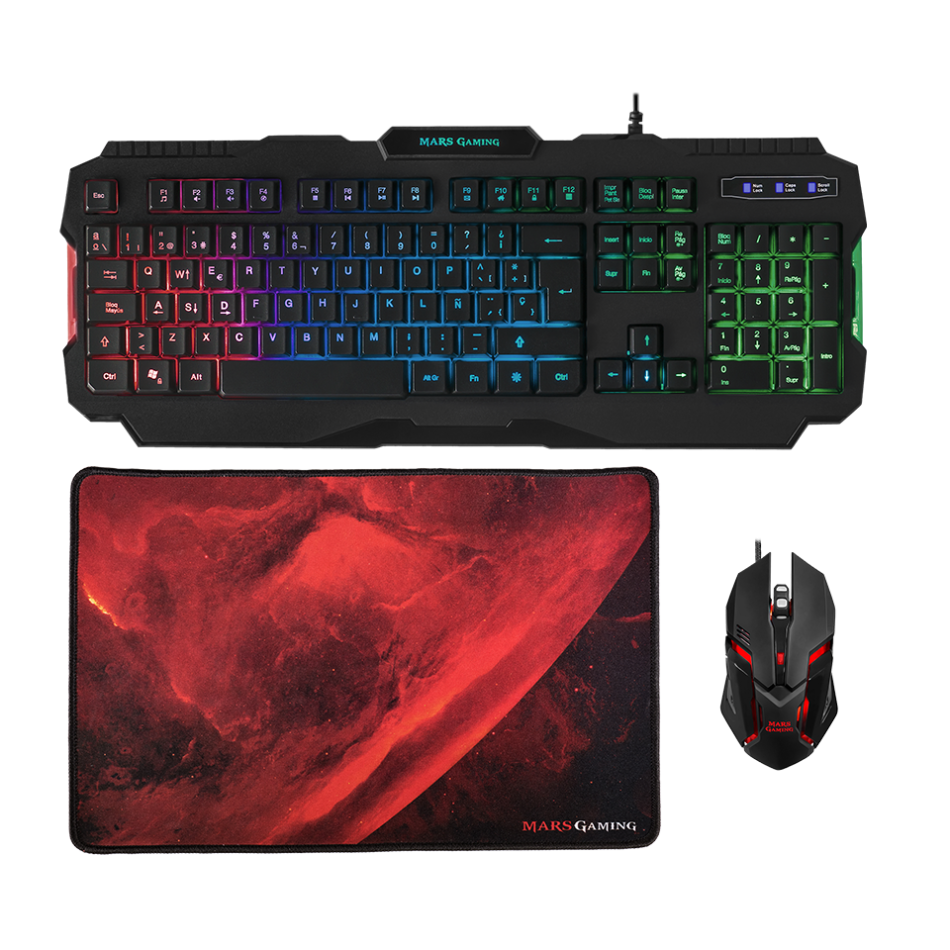 Comprar PACK MARS GAMING RGB MCP118