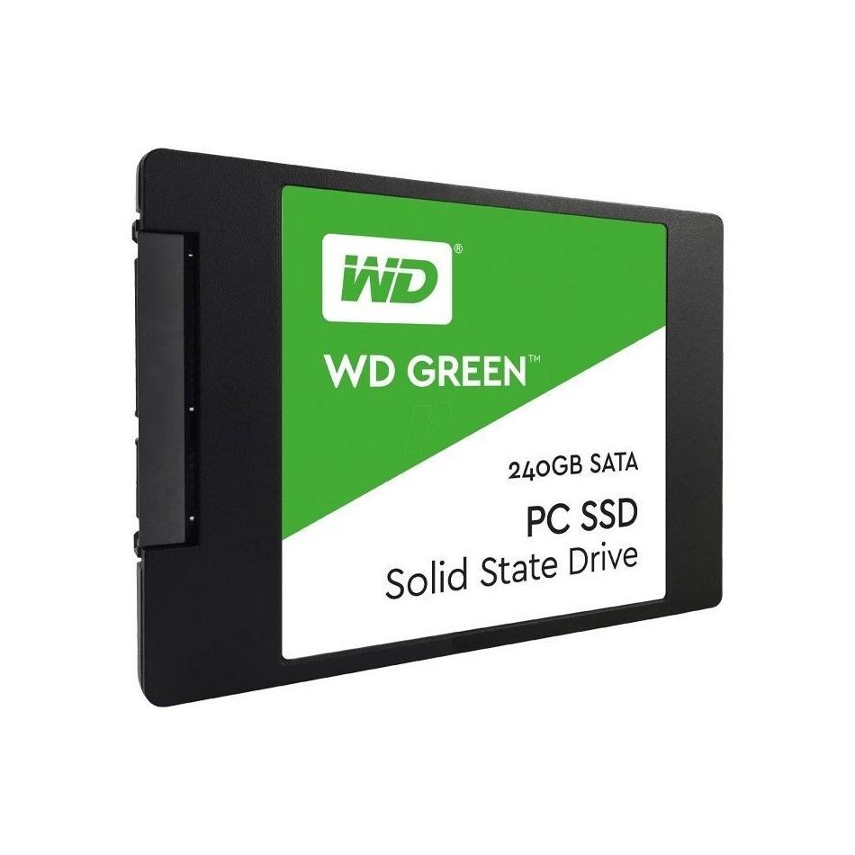Comprar DISCO SÓLIDO WESTERN DIGITAL GREEN 3D NAND 240GB   SATA III   2.5'