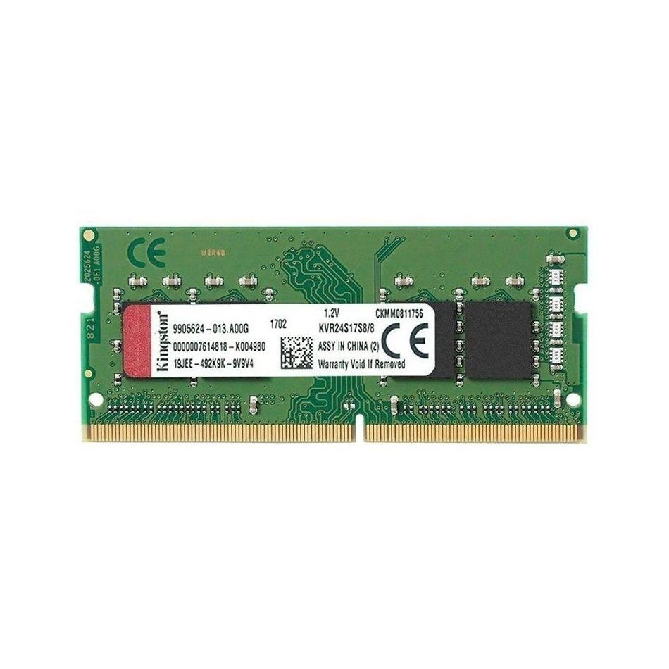 Comprar Memoria Kingston KVR24S17S8/8   8GB   DDR4 2400   CL17     SODIMM