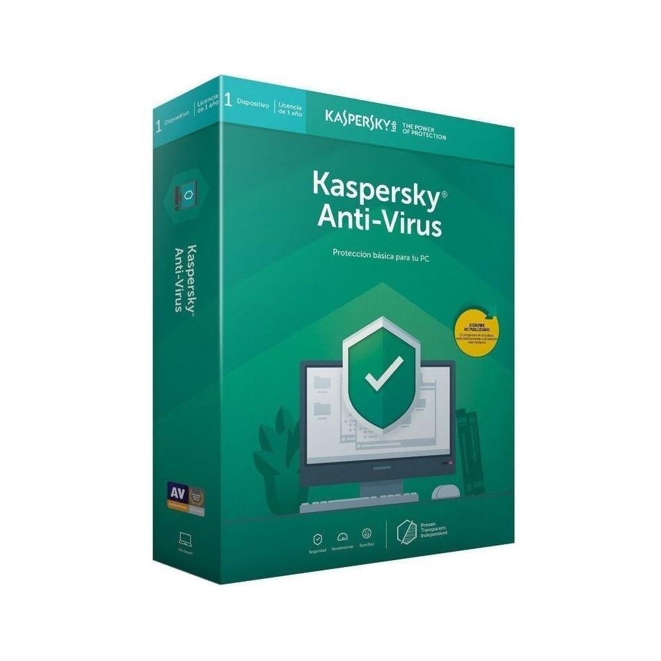 Comprar ANTIVIRUS KASPERSKY 2020  1 DISPOSITIVO  1 AÑO  NO CD