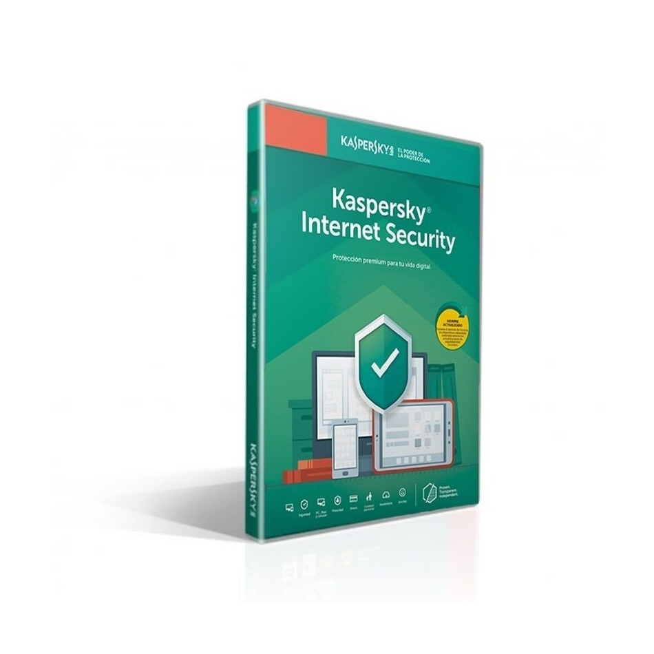 Comprar ANTIVIRUS KASPERSKY INTERNET SECURITY 2020  1 DISPOSITIVO  1 AÑO  NO CD  ATTACH