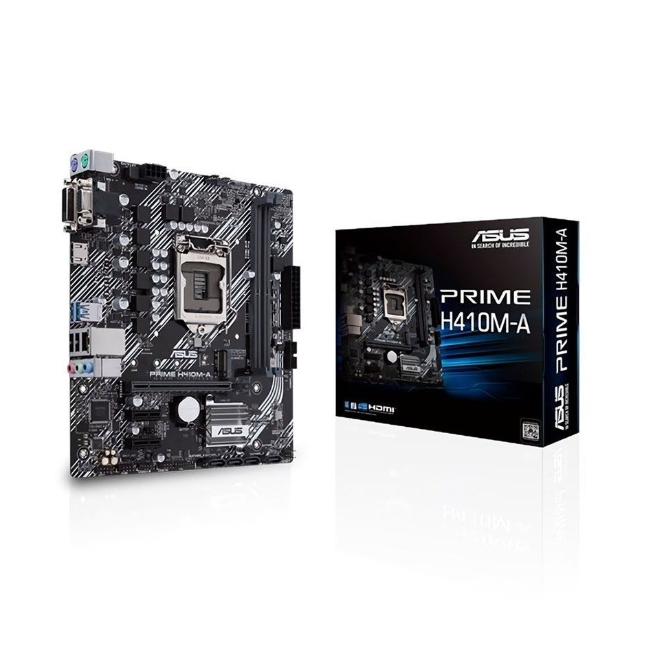 Comprar PLACA BASE ASUS PRIME H410M A   INTEL CORE 10TH GEN  SOCKET LGA 1200