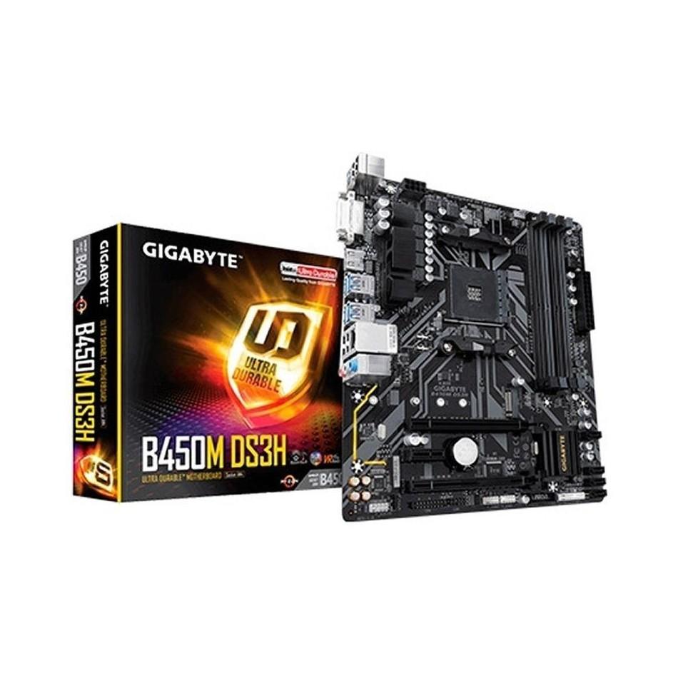 Comprar PLACA BASE GIGABYTE B450M DS3H  SOCKET AM4 SOPORTA AMD RYZEN 3/5/7