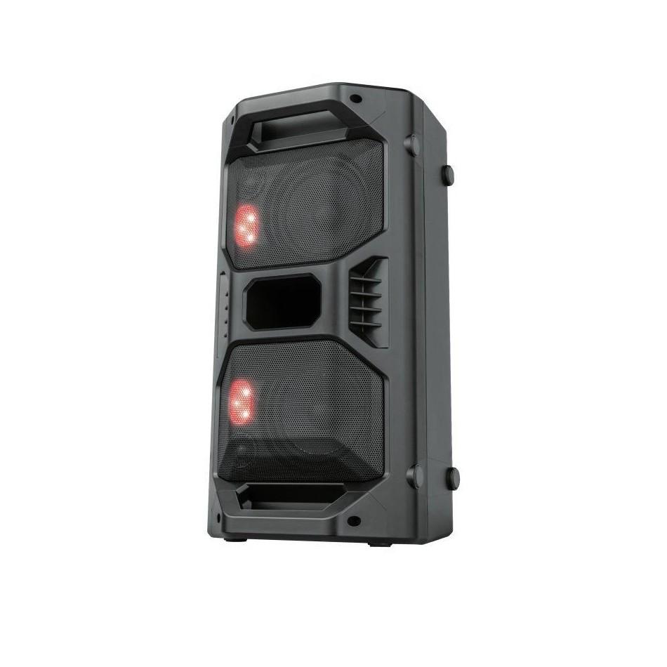 Comprar ALTAVOZ PORTATIL TRUST KLUBB GO  30W RMS  60W MAX SALIDA  ENTRADA BT/MICROSD/AUX 3.5MM/MICRÓFONO/USB LUCES LED  RGB