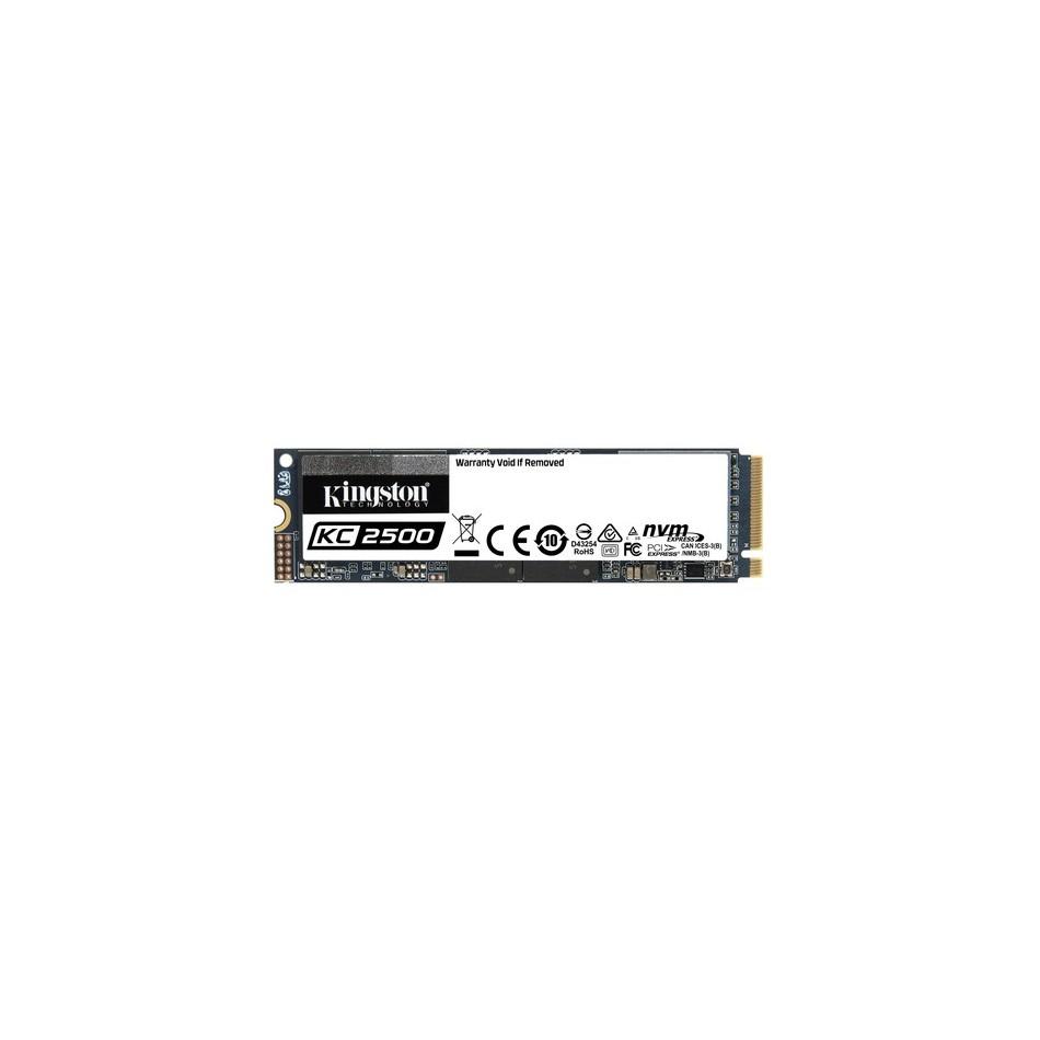 Comprar KINGSTON 1000Gb KC2500 M.2 2280 NVMe SSD