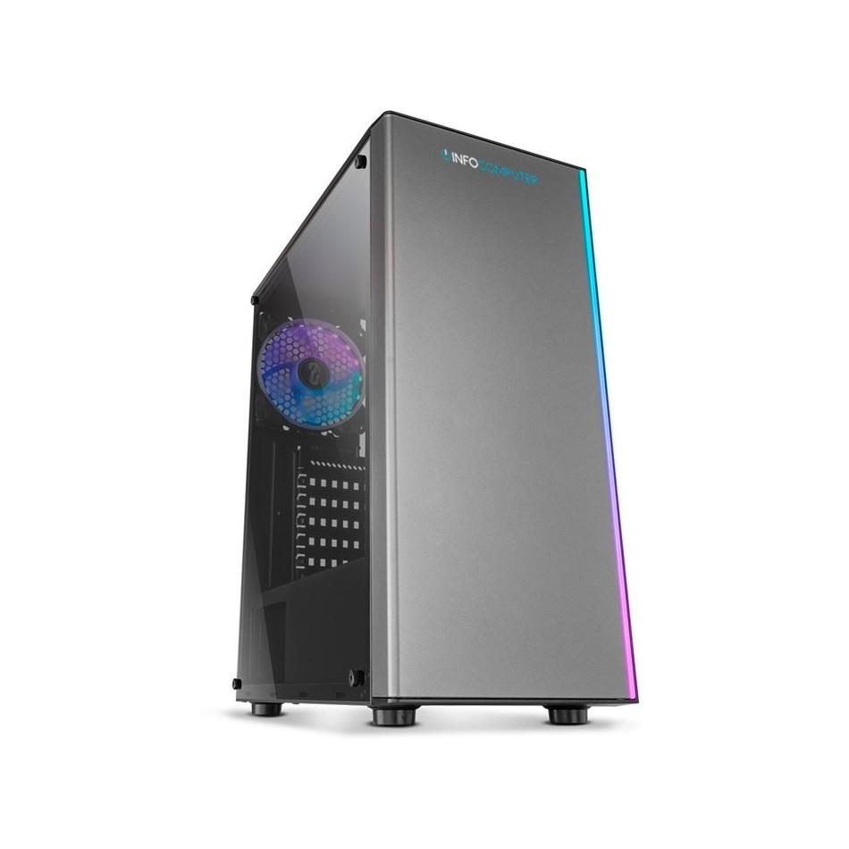 Comprar PC Gaming AMD AM4 Ryzen 3 3200G | 16GB DDR4 | WIFI | 1TB + 240 SSD | GT 730 4GB