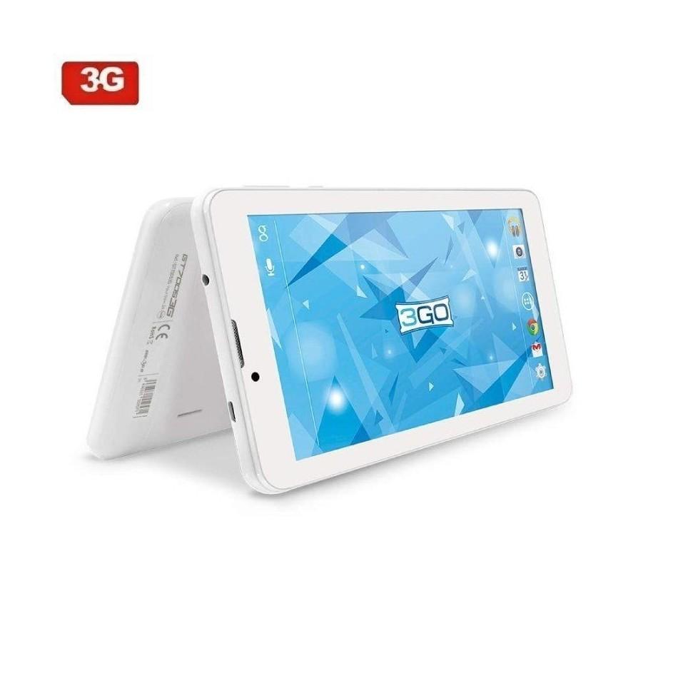 Comprar TABLET CON 3G 3GO GT70053G BLANCA   QC   1GB RAM   16GB   7'