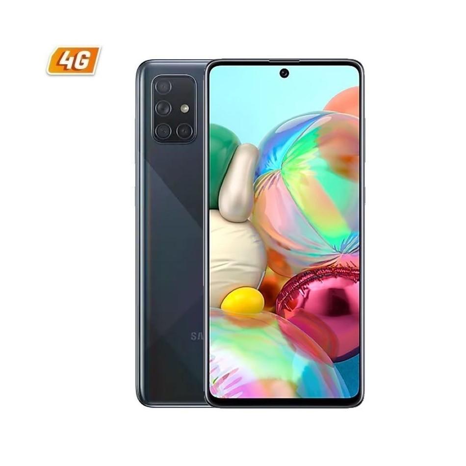 Comprar SMARTPHONE  MÓVIL SAMSUNG GALAXY A71 BLACK   6.7'  CAM (64+12+5+5)/32MP   OC   128GB   6GB RAM   ANDROID   4G   DUAL SIM