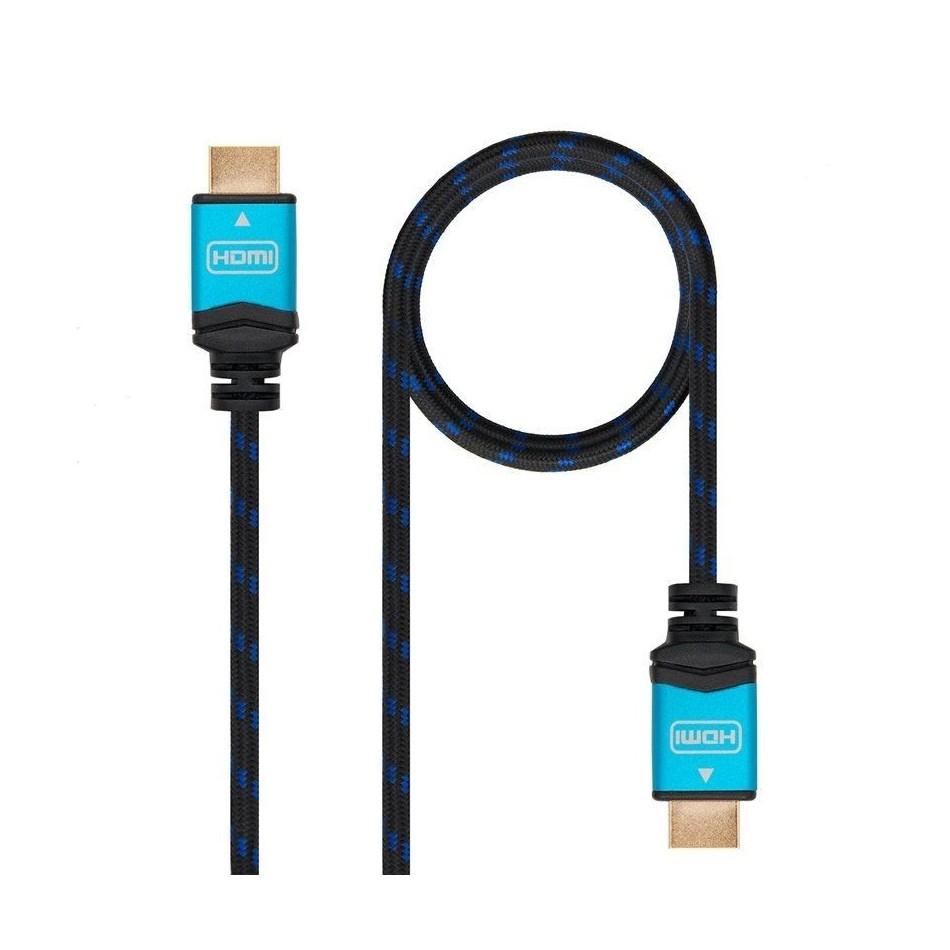 Comprar CABLE HDMI NANOCABLE 10.15.3702   V2.0   CONECTORES HDMI (TIPO A) MACHO   MULTIPLE APANTALLAMIENTO   2 MS   NEGRO