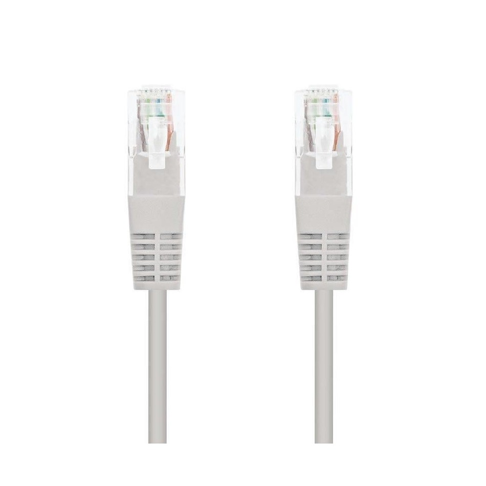 Comprar LATIGUILLO DE RED NANOCABLE 10.20.0100 L30    RJ45   UTP   CAT5E   30CM   GRIS