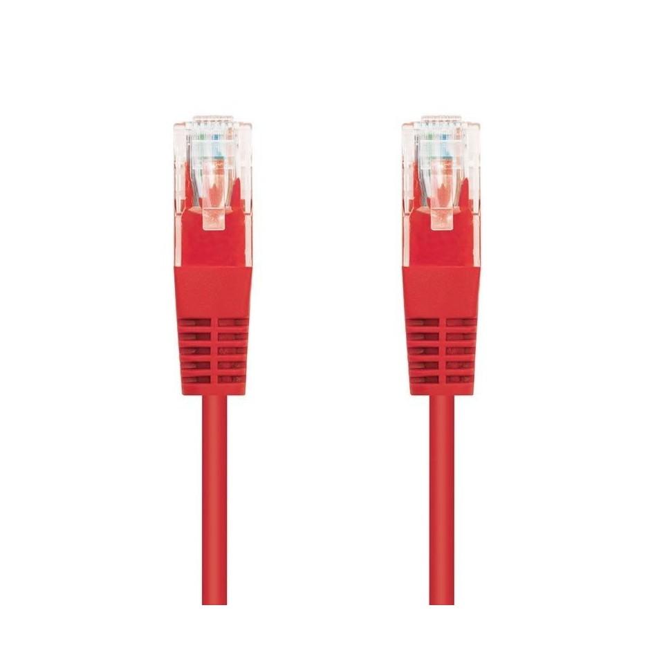 Comprar LATIGUILLO DE RED NANOCABLE 10.20.0101 R   RJ45   UTP   CAT5E   1M   ROJO