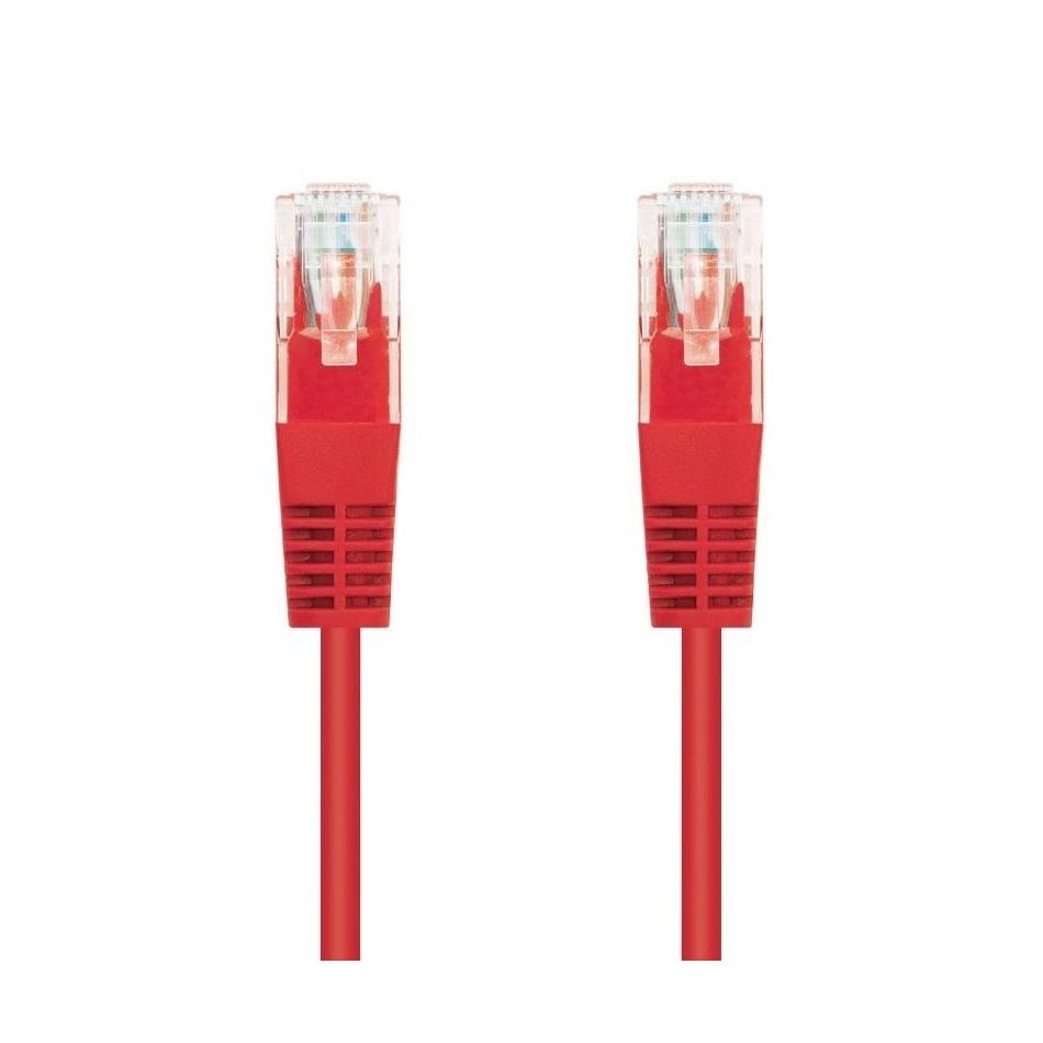 Comprar LATIGUILLO DE RED NANOCABLE 10.20.0102 R   RJ45   UTP   CAT5E   2M   ROJO