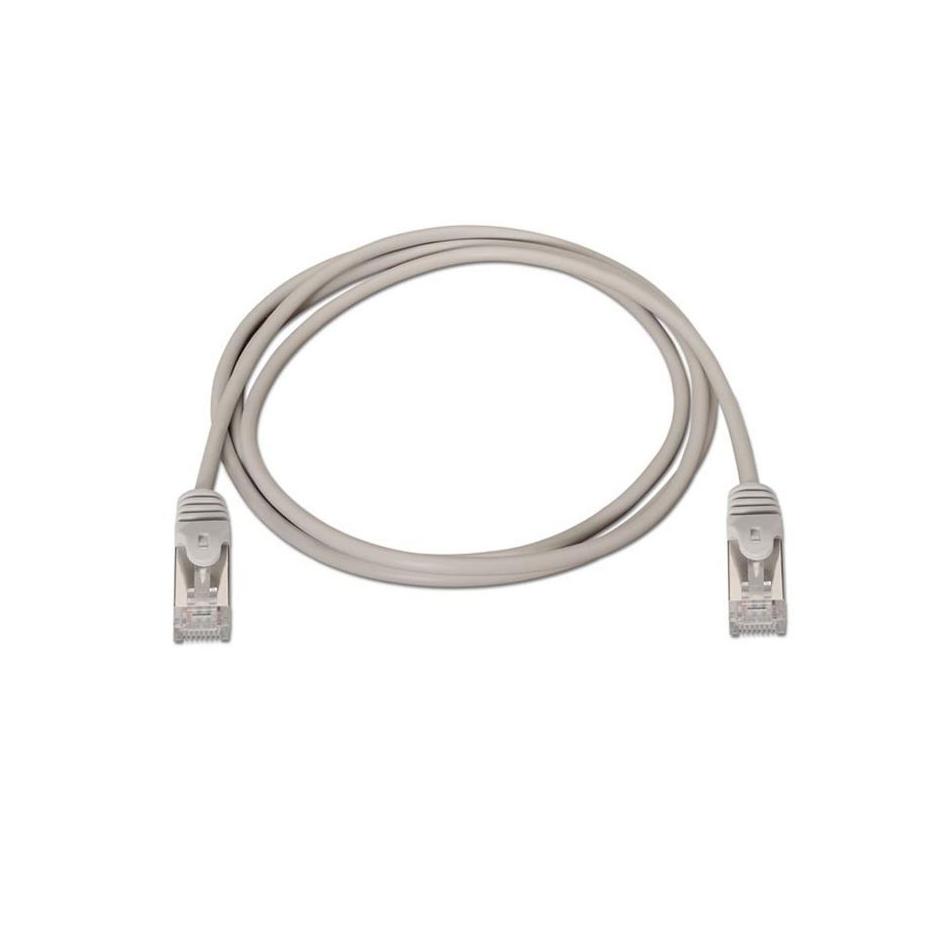 Comprar CABLE DE RED RJ 45 NANO CABLE 10.20.0801    CAT 6   FTP AWG24   GRIS   1M
