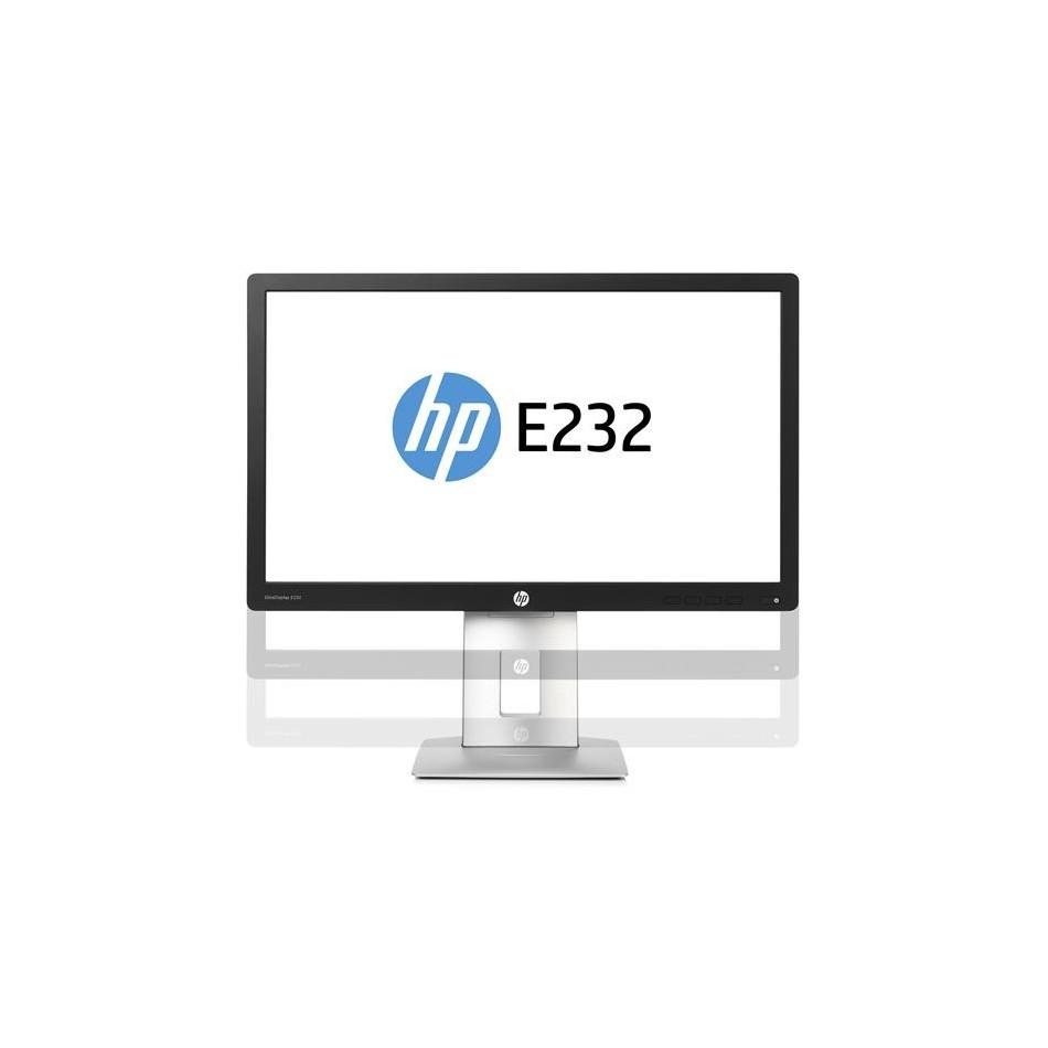 """Comprar Monitor HP E232   VGA, DP   Lcd 23"""" PANORAMICO   NEGRO"""
