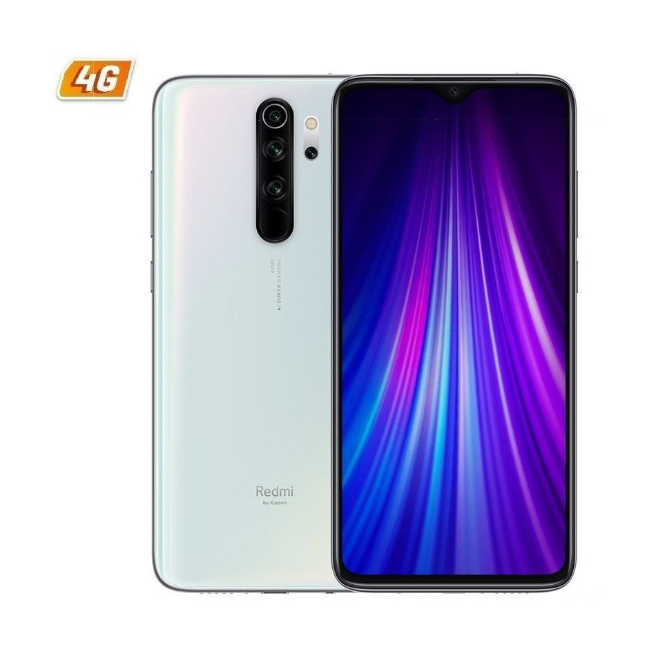 Comprar Smartphone xiaomi redmi note 8 pro 6gb 128gb 6.53' blanco nacar