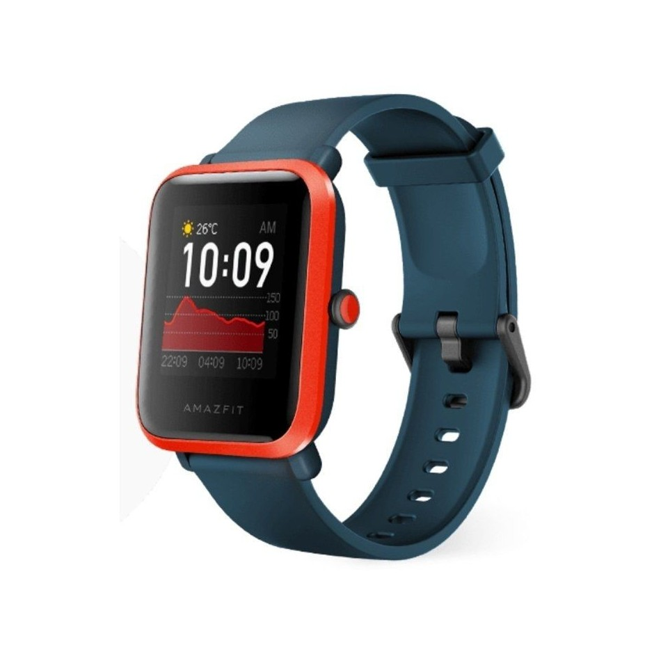 Comprar RELOJ INTELIGENTE HUAMI AMAZFIT BIP S RED ORANGE  PANTALLA 3.25CM  BT 5.0  SENSOR RITMO CARDIACO  GPS  BAT.190MAH