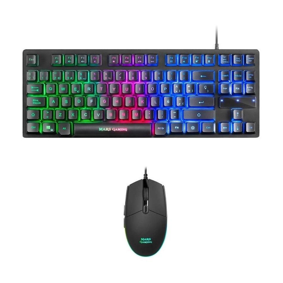 Comprar Pack Gaming  Teclado Mecánico + Ratón Óptico MCPTKLES