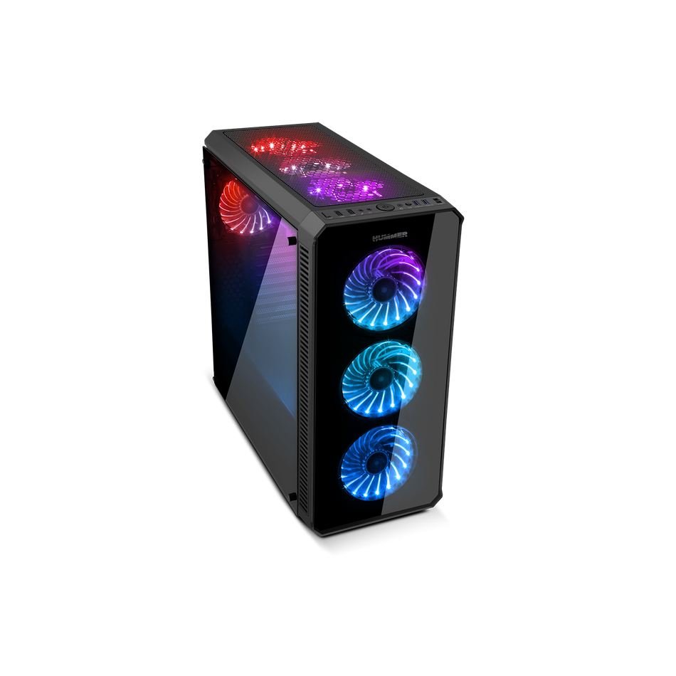 Comprar PC Gaming  AMD Ryzen 7 2700X | RTX 3060 8GB|32 GB DDR4 | 2TB + 960 SSD | WIFI |