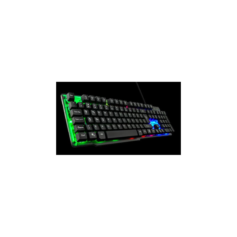 Comprar The G-Lab KEYZ-NEON teclado USB QWERTY Español Negro