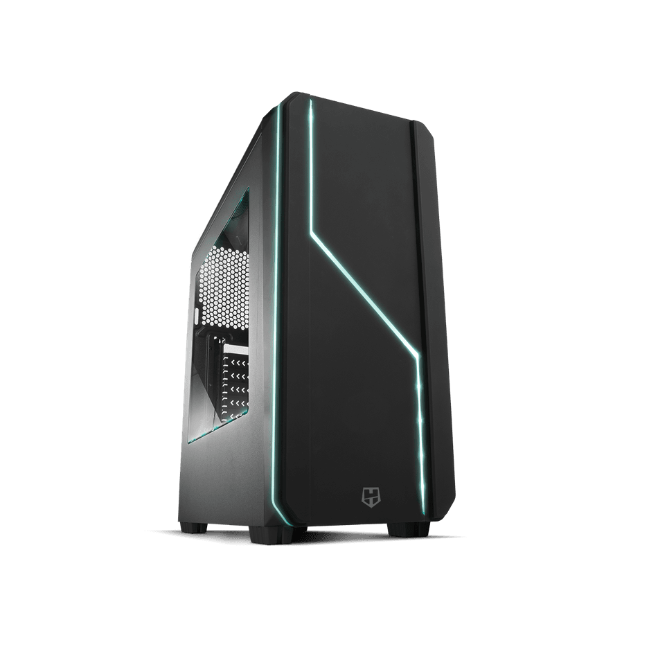 Comprar PC Gaming  AMD Ryzen 5 1600 | 16GB DDR4 | 1TB + 480 SSD | WIFI | GT 710 2GB