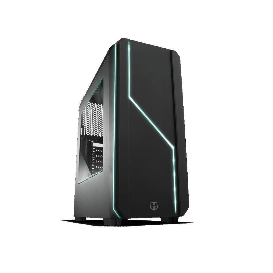 Comprar PC Gaming  AMD Ryzen 5 1600 16GB DDR4 1TB + 480 SSD WIFI  GT 710 2GB   W10 HOME