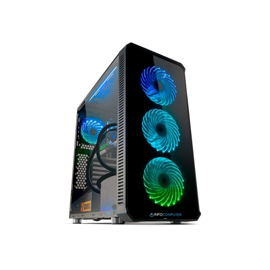 Comprar PC Gaming INTEL I9 10900F 2.8 Ghz|REF LIQUIDA|480 SSD + HDD 1 TB | RTX 3060 8GB | 16GB DDR4 | W10 HOME