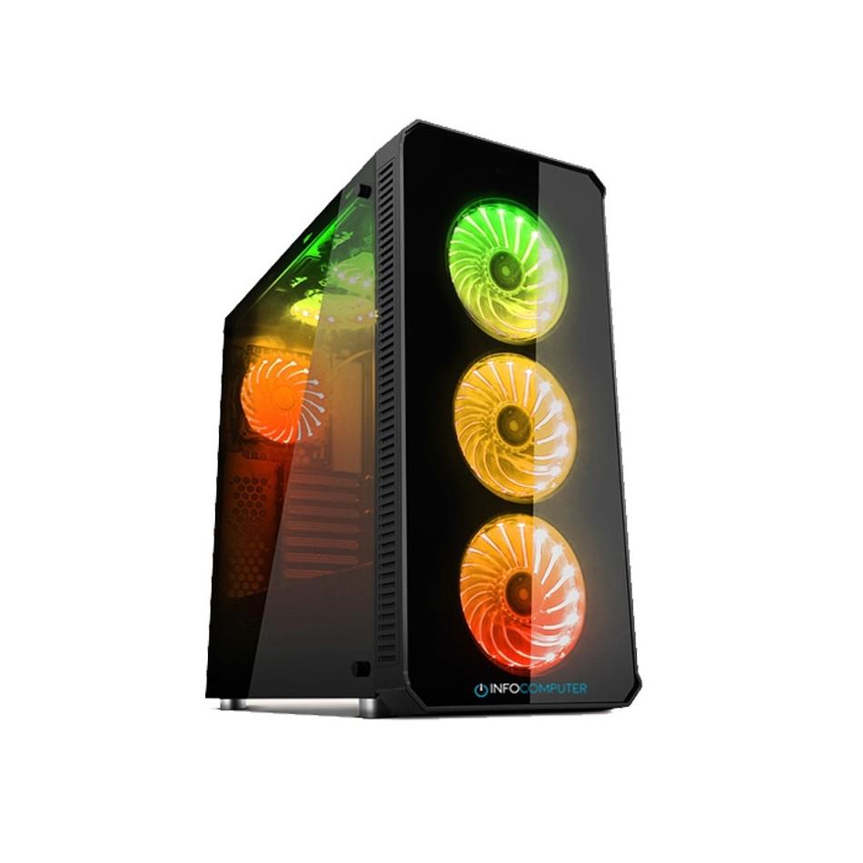Comprar PC GAMING| Intel i7-9700 3.0 GHz| 32 GB RAM DDR4|480 SSD+2TB HDD|VGA GTX 1660 6GB| W10 HOME
