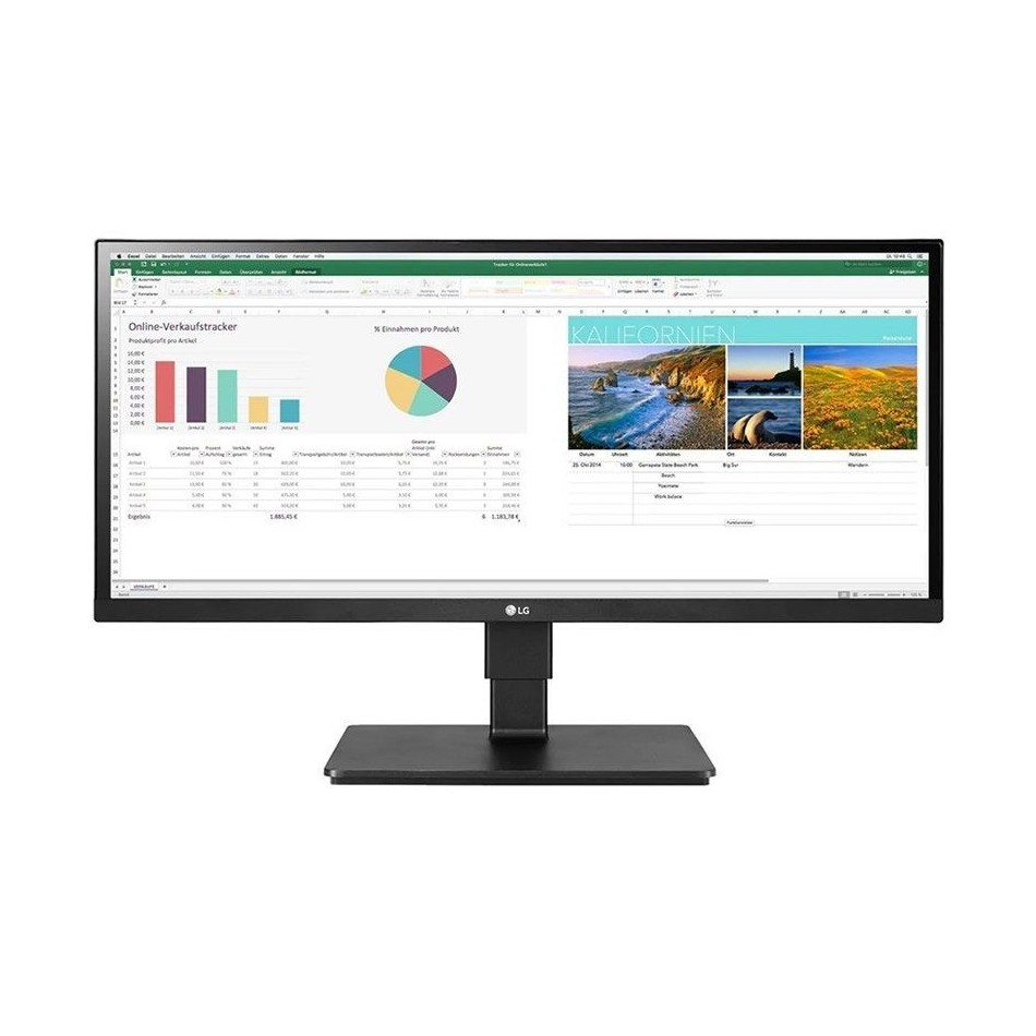 Comprar Monitor ultra panorámico profesional lg 29bn650-b 29' 2560*1080 multimedia