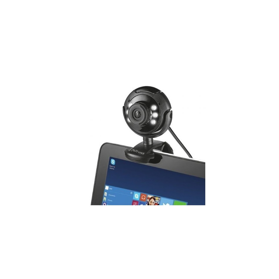 Comprar Webcam Trust Spotlight Pro  1280 x 1024
