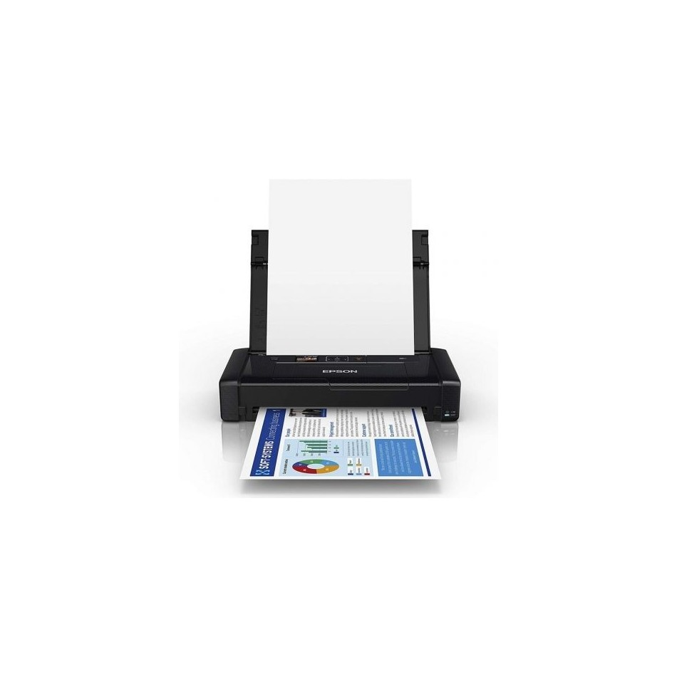 Comprar Impresora portatil epson workforce wf-110w wifi negra