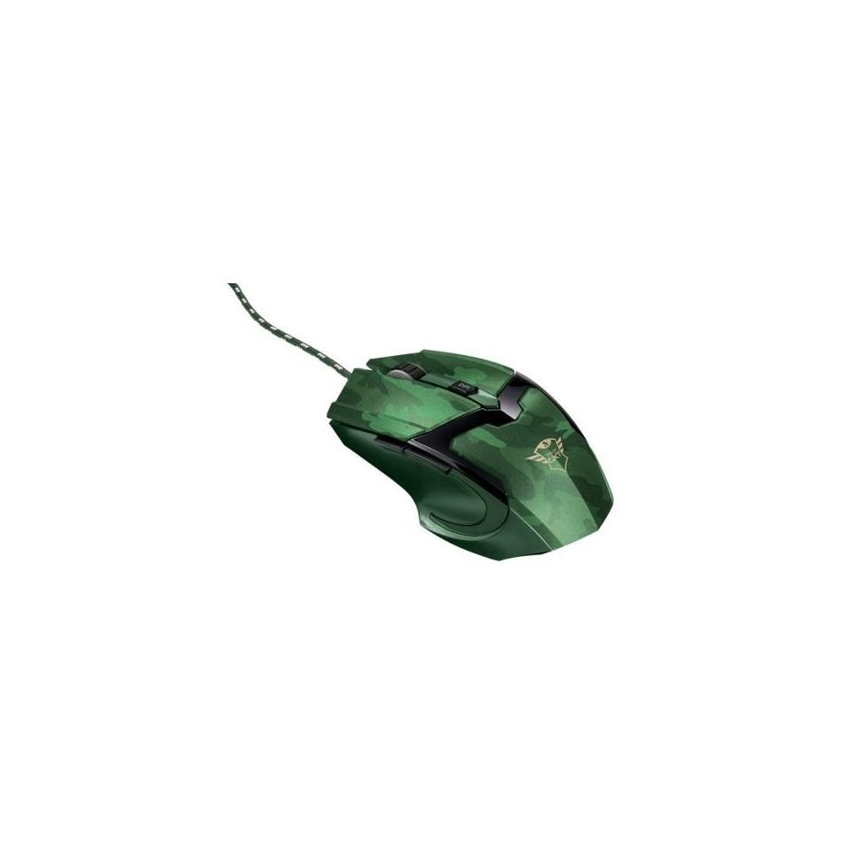 Comprar Ratón gaming trust gaming gxt 101d hasta 4800dpi camuflaje jungla