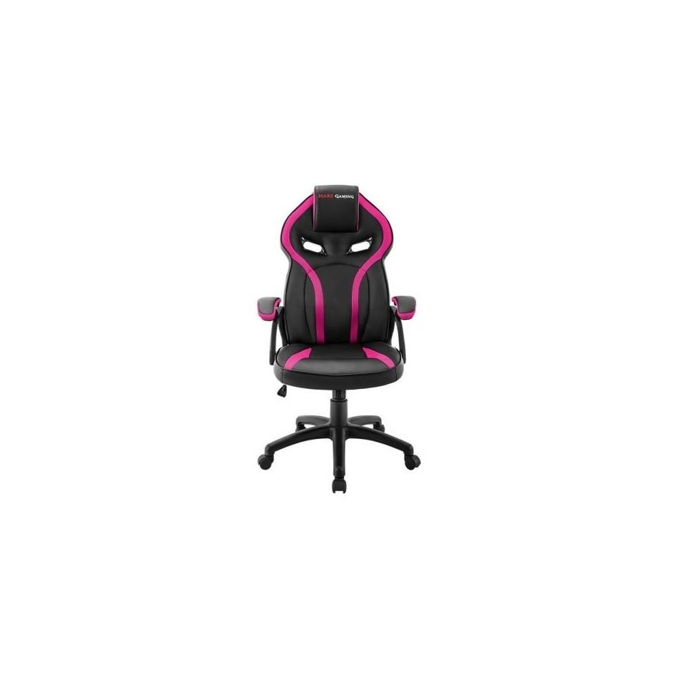 Comprar Silla gaming mars gaming mgc118bpk rosa